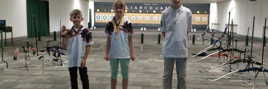 2x goud, 2x zilver en 3x brons bij Zomerwedstrijd