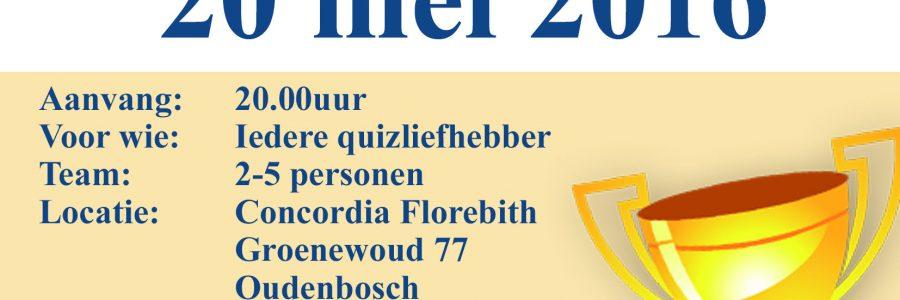 Pubqwis voor handboogverenigingen bij Concordia Florebith