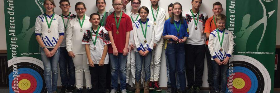 Seizoenswedstrijden voor de jeugd 2016