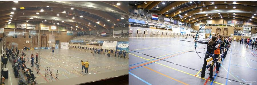 Nimrod op het NK Indoor 2017 in Zoetermeer