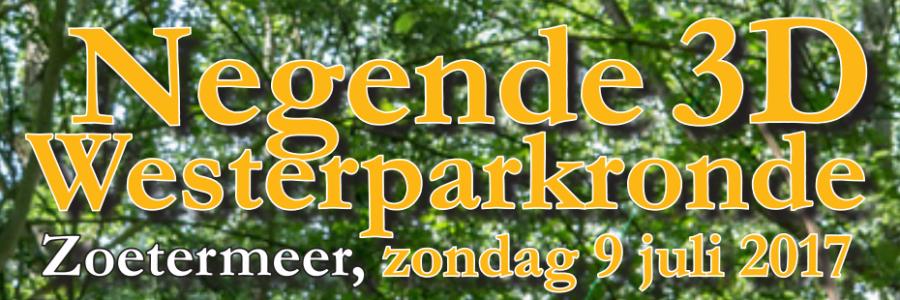 Jurgen Putman 3e bij 3D Westerparkronde Zoetermeer
