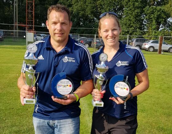 900 International Challenge Cup voor Jean-Pierre en Marianne
