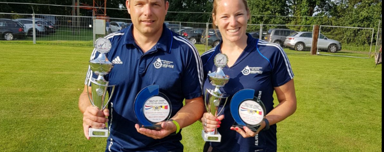 900 International Challenge Cup voor Jean-Pierre en Marianne