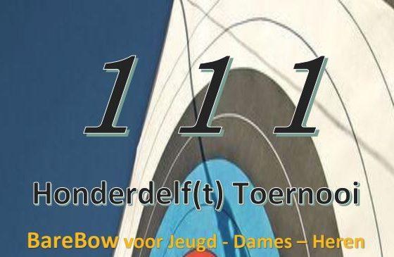 Honderdelf Toernooi 15-4-18