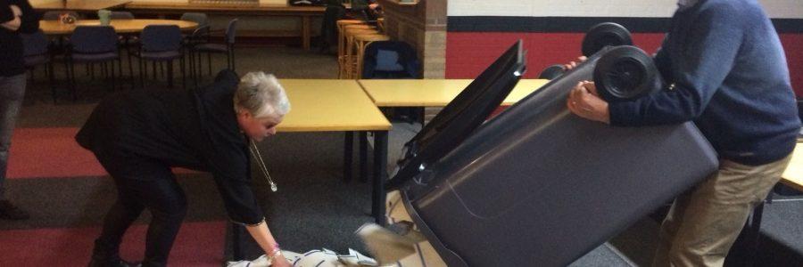 Stemlokaal gemeenteraadsverkiezingen 2018