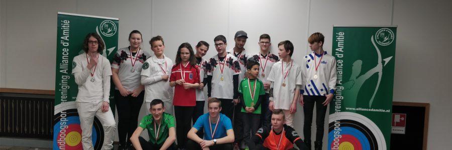 6 medailles bij Lentewedstrijd 2018