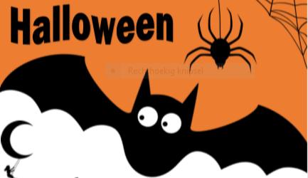 Halloween verschieting